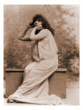 Sarah Bernhardt, French Actress in Greek Costume, 1896 Photo