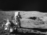 Apollo 14 Commander and Fifth Man to Walk on the Moon Alan B. Shepard Jr., 1971 Photo