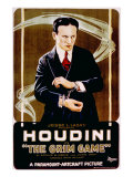 The Grim Game, Harry Houdini, 1919 Posters