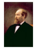 James A. Garfield, U.S. President 1881 Photo