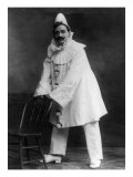 Enrico Caruso, as the Clown Canio in Pagliacci, an Opera by Ruggero Leoncavallo. 1908, Photographic Print