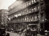 Little Italy, a Row of Tenements on Elizabeth St, New York, 1912 Photo