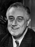 President Franklin D. Roosevelt, on His 59th Birthday, January 30, 1941 Prints