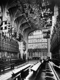 St. George's Chapel, Windsor Castle, England, 1930s Posters