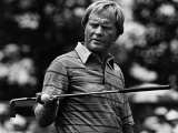 Golf Pro Jack Nicklaus, August, 1984 Fotografía