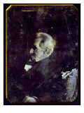 Andrew Jackson, Half Plate Daguerreotype, Gold Toned Photo