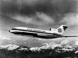 Pan American's Tri-Engined Boeing 727 Jet, 1965 Photo