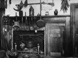 Colonial Fireplace, Salem, Massachusetts, 1750 Photo