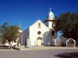 Ysleta Mission, La Mision De Corpus Christi De San Antonio De La Ysleta Del Sur, El Paso, 1960 Photo