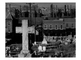 Bethlehem Graveyard and Steel Mill, Pennsylvania, November, 1935 Posters