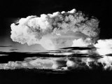 Atomic Energy: an Explosion of the H-Bomb During Testing in the Marshall Islands, 1952 Poster