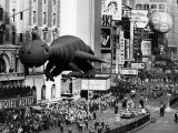 The Macy's Thanksgiving Day Parade, Times Square, New York City, November 28, 1963 Photo