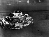 Alcatraz Island, San Francisco, While a Prison, 1940s Photo