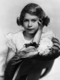 Queen of England Princess Elizabeth on Her Tenth Birthday, April 21, 1936 Photo