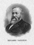 US President Benjamin Harrison Photo