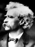 American Writer Mark Twain, 1900 Photo