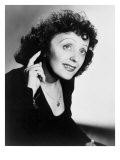 Edith Piaf, French Ballad Singer in Publicity Still from 1947 Poster