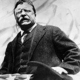 Theodore Roosevelt, Delivering a Campaign Speech, 1900's Posters