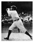 Babe Ruth at Bat, 1920s Photo