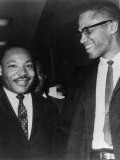 Martin Luther King Jr., and Malcolm X, 1964 Photo
