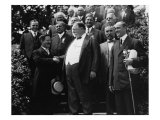 William Howard Taft Receives News of His Nomination as Republican Presidential Candidate in 1908 Photo