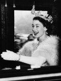 Queen Elizabeth II of England, Late 1950s Photo