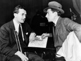 Tommy Dorsey and Hoagy Carmichael, 1939 Photo