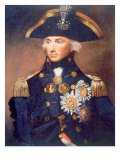 Admiral Horatio Nelson, Portrait from the National Maritime Museum in London by Lemuel Abbott, 1798 Posters