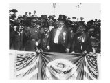 President William Howard Taft and Dignitaries During Decoration Day Ceremonies in 1910 Photo