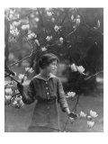 Edna St. Vincent Millay American Poet. 1914 Portrait by Arnold Genthe Photo