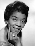 American Blues, Jazz, and R&B Singer Dinah Washington, 1963 Photo