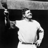 Babe Ruth, American Baseball Player, 1930s Photo