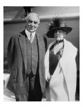 President Warren Harding and His Wife, Florence in 1923 Portrait Photo