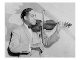 Eddie South, African American Jazz Violinist, 1941, Poster