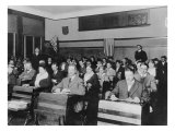 Department of Labor Naturalization Class Teaching Immigrants English and US Political Culture, 1920 Photo