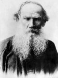Leo Tolstoy, Russian Writer, Early 1900s Print