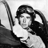 Ted Williams, American Baseball Player and Marine Corps Pilot, 1952. Csu Archives Posters