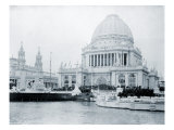 Administration Building at the World's Columbian Exposition, Chicago, on Opening Day, May 1, 1893 Photo
