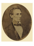 Abraham Lincoln Portrait Shortly after His Nomination as Republican Presidential Candidate Prints