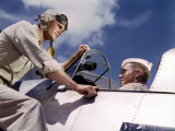 Pilot Training at the Naval Air Base, Corpus Christi, Texas, 1942 Photo