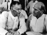 Clarence Darrow and William Jennings Bryan, 1925 Photo