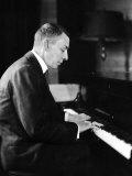 Russian Composer and Pianist Sergei Rachmaninoff, 1931 Fotografía