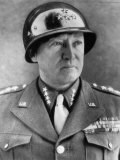 General George S. Patton Jr., U.S. Army General, 1940s Photo
