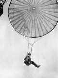 Amelia Earhart Helps Test a Commercial Parachute. June 2, 1935 Photo