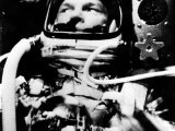 Astronaut John Glenn in His Space Capsule, February 20, 1962 Photo