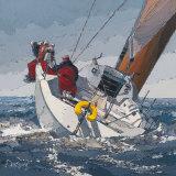 Dans le Clapot Poster by Guy Dekeryver