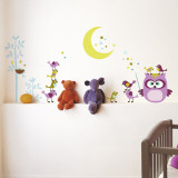 Owl &amp; Company Wall Decal