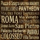Roma Affiches par Luke Wilson