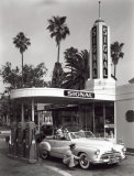 Gas Station, c.1950 Pósters