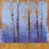 Birch Trees I Posters by Cheryl Martin